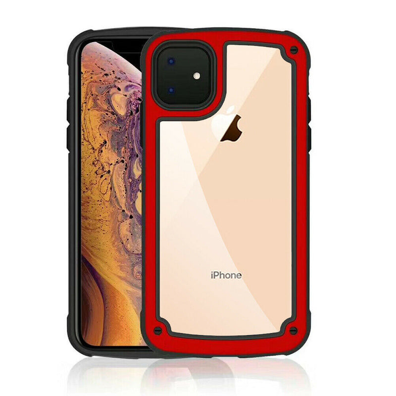 "TJS ""Prime"" Transparent Clear Case for iPhone 11, iPhone 11 Pro, iPhone 11 Pro Max - InfinityAccessories017"