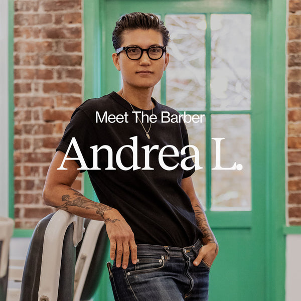 Meet the Barber - Andrea