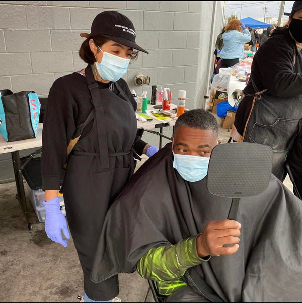 Fellow Barbers Give Back