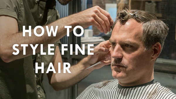 Video Capture - How to Style Fine Hair