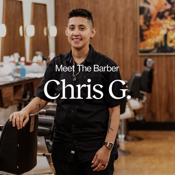 Meet the Barber - Chris