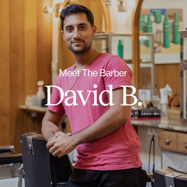 Meet the Barber - David