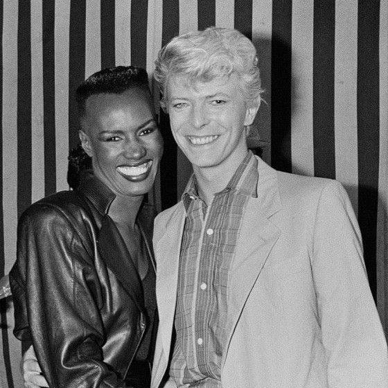 Grace Jones & David Bowie
