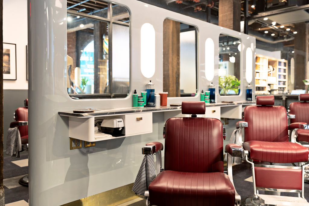 Fellow Barber Dumbo Interior Chairs
