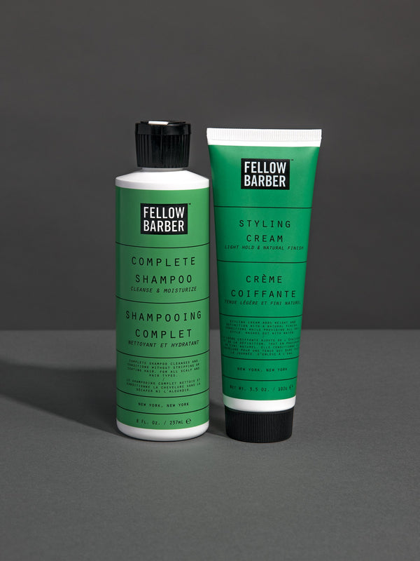 Complete Shampoo and Styling Cream