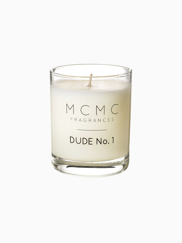 MCMC Dude No. 1 Candle
