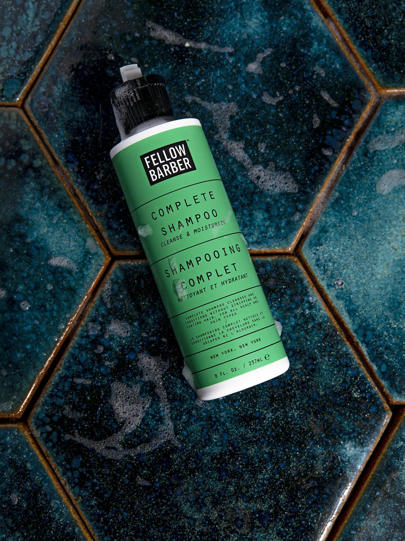 Complete Shampoo on Tile