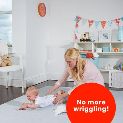 The Wriggler™ - Portable, Wriggle-Free Changing Mat.