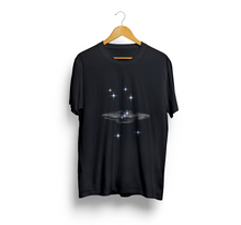 Load image into Gallery viewer, Exspiravit Orion Constellation UFO Unisex Tee