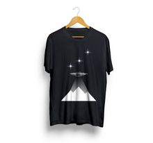 Load image into Gallery viewer, Exspiravit Orions Belt White Pyramids Unisex Tee