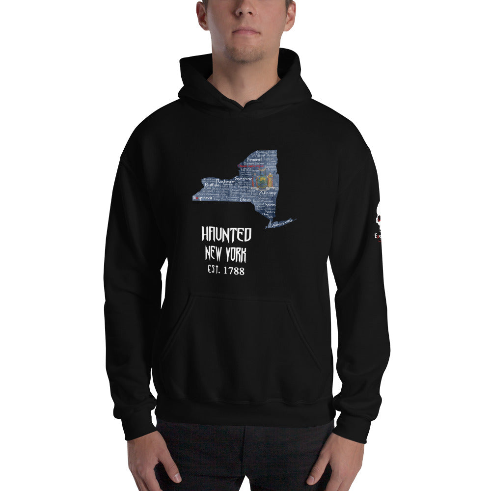 Haunted New York Unisex Hoodie