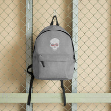 Load image into Gallery viewer, Exspiravit Skull Embroidered Backpack