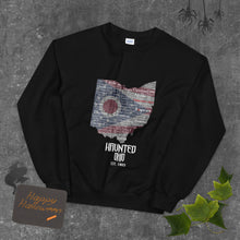 Load image into Gallery viewer, Haunted Ohio Unisex Jumper Sweatshirt
