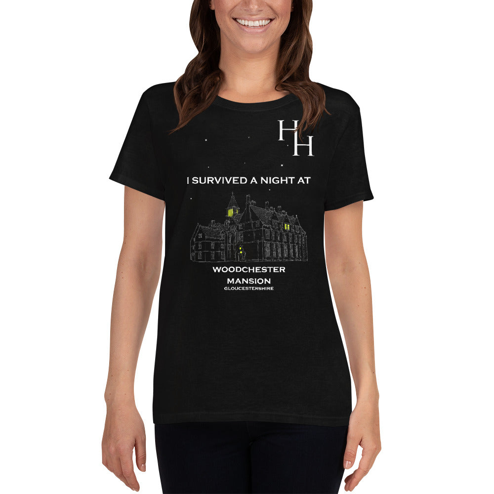 HH Exclusive Woodchester Mansion Women's Short Sleeve Tee