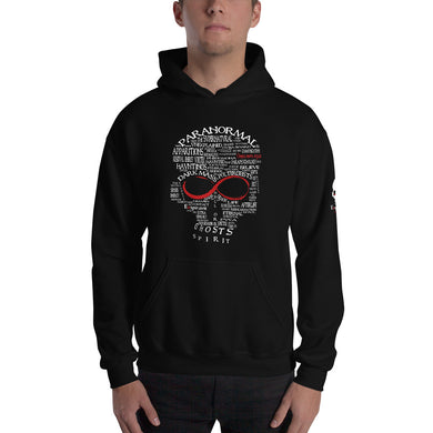 Exspiravit Limited Edition Paranormal Word Art Unisex Hoodie