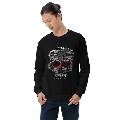 Exspiravit Limited Edition Paranormal Word Art Unisex Jumper
