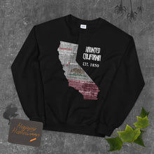 Load image into Gallery viewer, Haunted California Unisex Jumper Sweatshirt