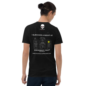 HH Exclusive Shrewsbury Prison Unisex Back Print Tee