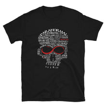 Load image into Gallery viewer, Exspiravit Paranormal Word Art Unisex Tee