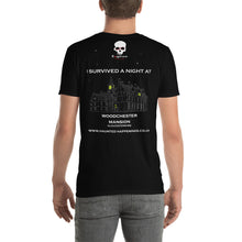 Load image into Gallery viewer, HH Exclusive Woodchester Mansion Unisex Back Print Tee