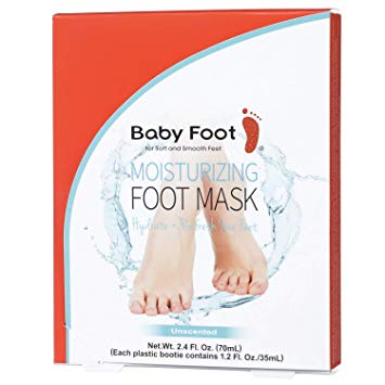 Baby Foot Moisturizing Foot Mask (not a peel)