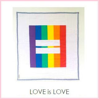 LOVE IS LOVE mini quilt PDF