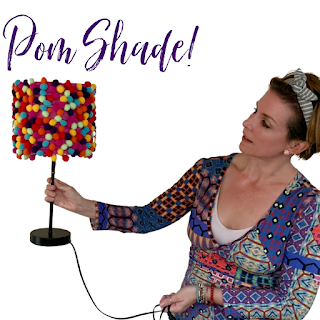 Pom Pom Shade tutorial