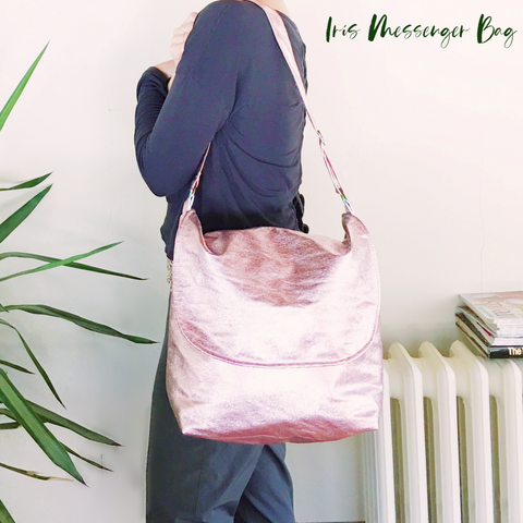 IRIS Messenger Bag PDF sewing pattern