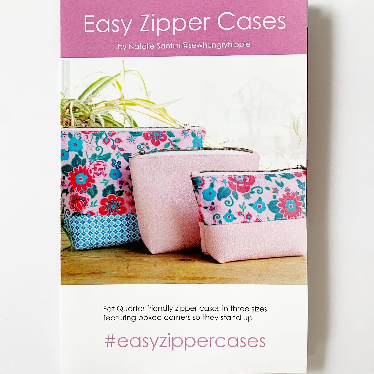 Easy Zipper Cases printed pattern
