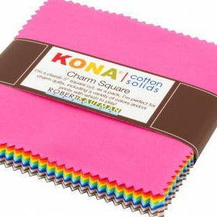 KONA Charm pack bright colors