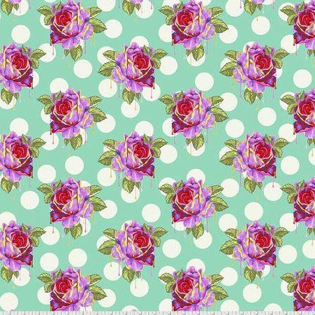 Tula Pink Painted Roses 1 YD
