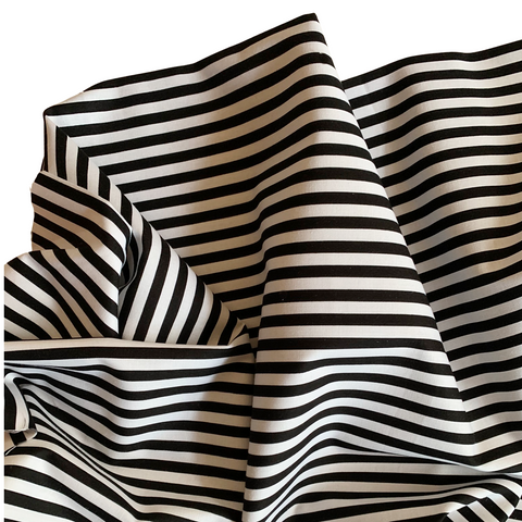 Black and White stripe fabric Riley Blake