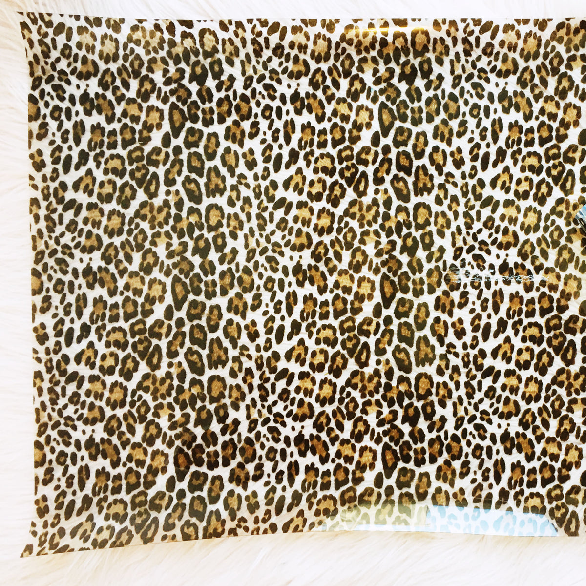 Leopard See Through Vinyl Sew Hungryhippie
