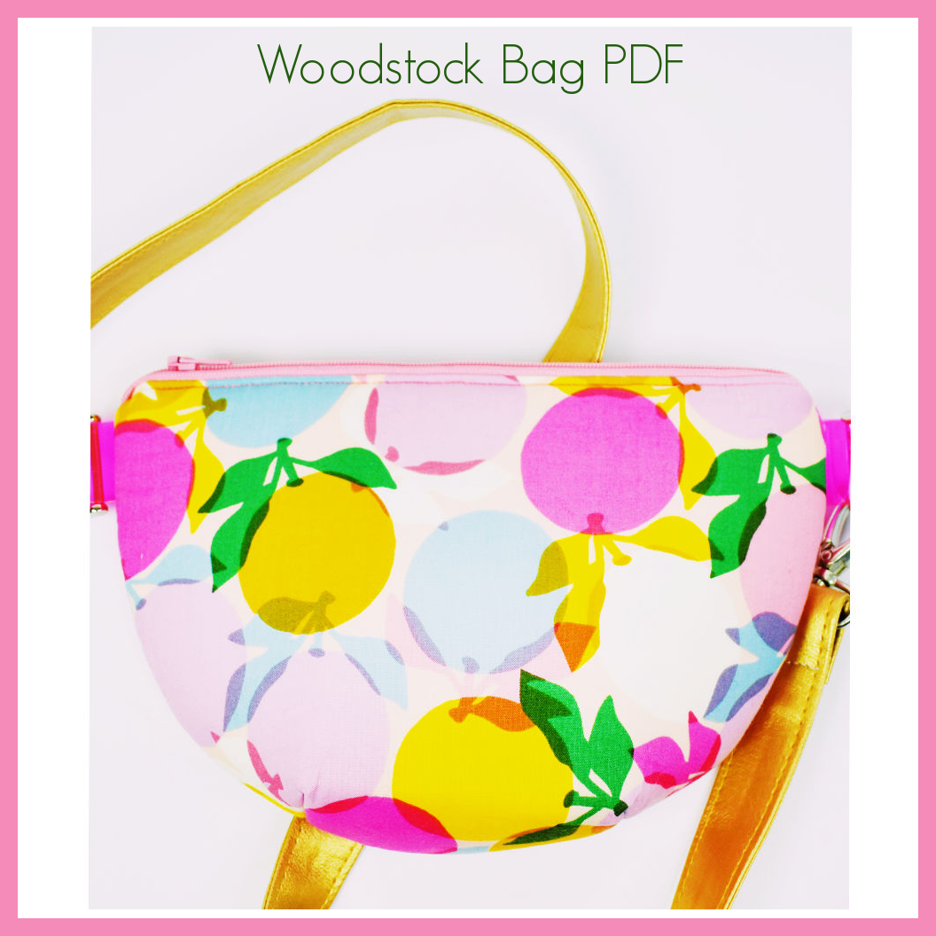 Woodstock Bag PDF pattern