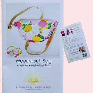 Woodstock Bag printed pattern