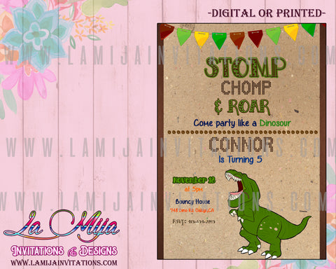 Dinosaur Invitations, Dinosaur Birthday Invitations, Dinosaur Theme Birthday, Invitaciones Dinosaur