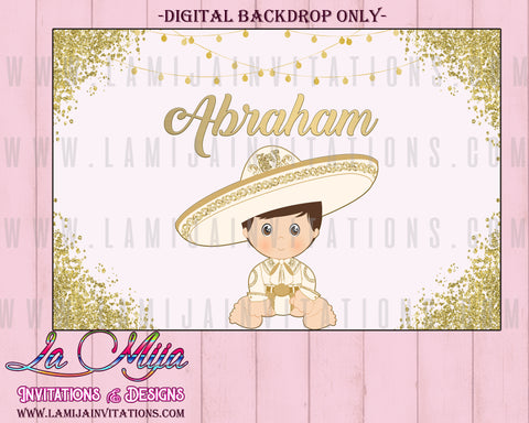 Charro Backdrop, Customized Item,  Charro Digital Backdrop, Charro Theme Birthday, Charro Invitations, Charro Fiesta - Addi Creations