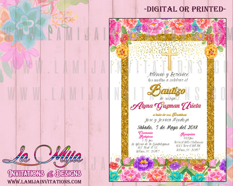 Mexican Theme Baptism Invitations, Customized Item, Mexican Baptism Invitations, Mexican Theme Baptism Invitations, Invitaciones Bautizo, Invitaciones Bautizo Tema Mexicano, Invitaciones Mexicano bautizo, Mexican Charra Theme