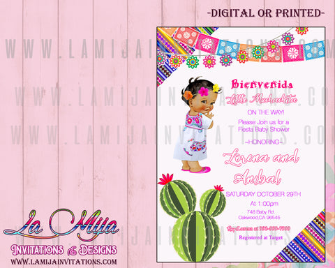 Fiesta Baby Shower Invitations, Customized Item, Baby Fiesta Invitations, Baby Shower Fiesta Invitations, Mexican Theme Invitations, Mexican Baby Shower Invitations, Mexican Theme Baby Shower Ideas, Invitaciones Baby Shower Tema Mexicano