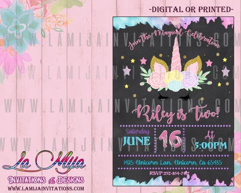 Unicorn Invitations, Customized Item, Invitaciones Unicornio, Unicorn Birthday Invitations, Unicorn Party Invites, Unicorn First Birthday Invitations, Unicorn Baby Shower Invitations