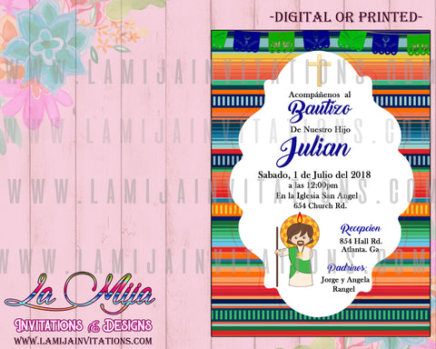 San Judas Invitations, Cuztomized Item, San Juditas,Invitaciones San Judas