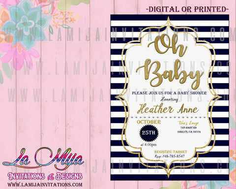 Oh baby Invitations, Oh Baby Shower Invitations, Oh Baby Baby Shower, Oh Baby Shower Theme