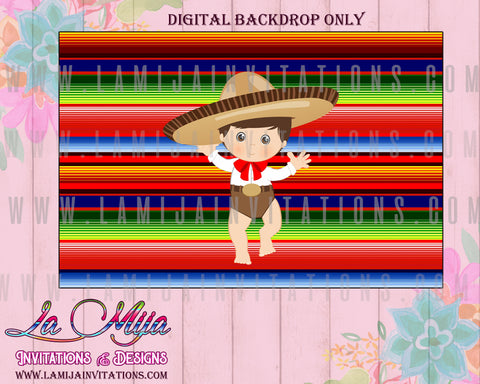 Charro Fiesta, Charro Backdrop, Customized Item, Charro Theme, Charro Baptism, Charro Party Theme