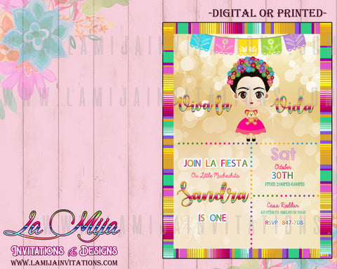 Frida Kahlo Invitations, Frida Kahlo Birthday Invitations, Frida Kahlo Fiesta, Invitaciones Frida Kahlo, Frida Kahlo Party Theme, Frida Invitations, Frida Kahlo Baby Shower - Addi Creations