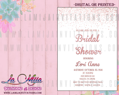 Bridal Invitations, Customized Item, Invitaciones Despedida de Soltera, Bridal Shower Party Invitations, Cheap Bridal Shower Invitations