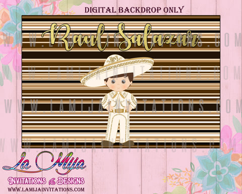 Charro Fiesta, Customized Item, Charro Theme Decorations, Charro Backdrop, Charro Baptism, Charro Decor