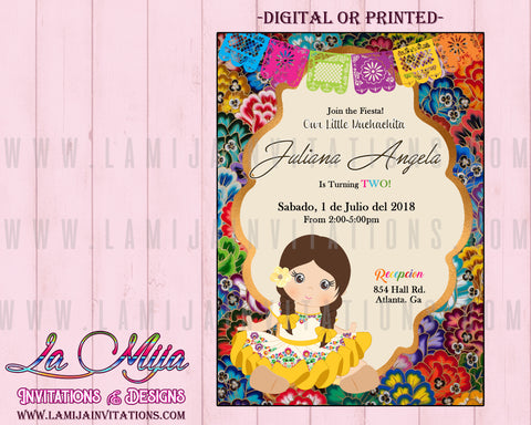 Fiesta Birthday Invitations, Mexican Theme Birthday Invitations, Mexican Theme Birthday, Fiesta Theme Invitations, Invitaciones Tema Mexicano, Mexican Invitations, Charra Invitations - Addi Creations