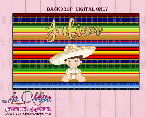Charro Backdrop, Customized Item, Charro Digital Backdrop, Charro Baptism, Charro Birthday Backdrop, Charro Theme Party, Tres Anos Charro, Bautizo Charro - Addi Creations