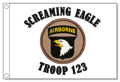 101st Airborne Division Screaming Eagle Patrol Flag