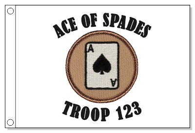 Ace of Spades Patrol Flag